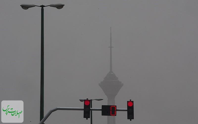 هوای-تهران-برای-سومین-روز-پیاپی-در-وضعیت-«قرمز»