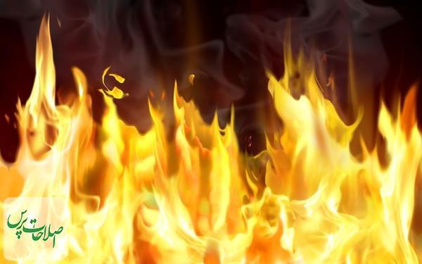 یک-بدهکار،-اداره-برق-مشهد-را-آتش-زدمدیر-بخش-و-یکی-از-کارکنان-دچار-سوختگی-شدند