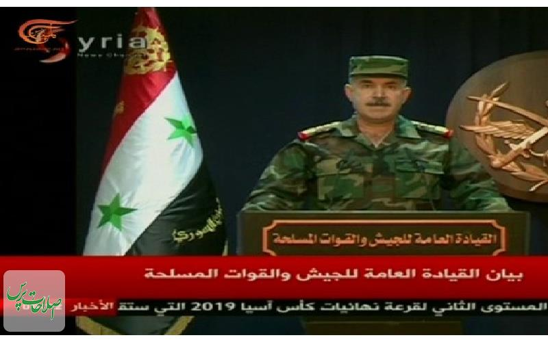 ارتش-سوریه-بیشتر-موشکهای-دشمن-متجاوز-رهگیری-شد