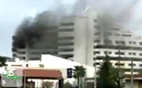 مجتمع-اقامتی-بانک-مرکزی-در-نوشهر-دچار-حریق-شد-یک-نفر-درگذشت