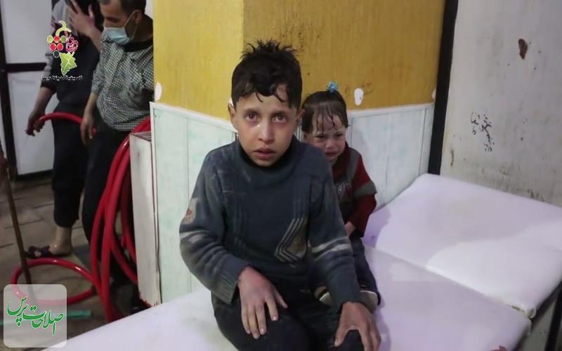 روسیه-کودک-فیلم-شیمیایی-ساختگی-در-دوما-را-به-لاهه-میبرد