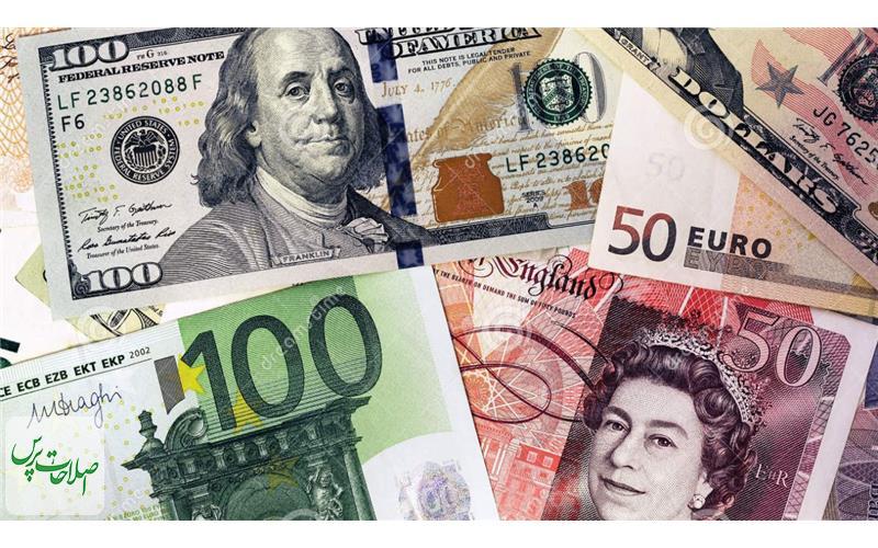 افزایش-قیمت-یورو-و-پوند-ثبات-نرخ-دلار