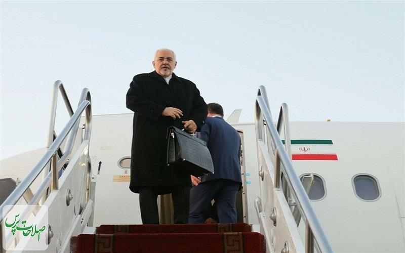 ظریف-به-مسکو-سفر-کرد