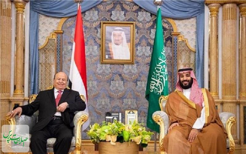 دیدار-رئیس-دولت-مستعفی-یمن-با-ولیعهد-عربستان