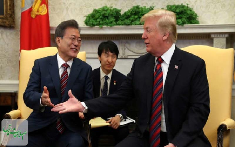 درخواست-رئیسجمهور-کرهجنوبی-گفتوگوهای-مستقیم-ترامپ-و-کیم-برگزار-شود