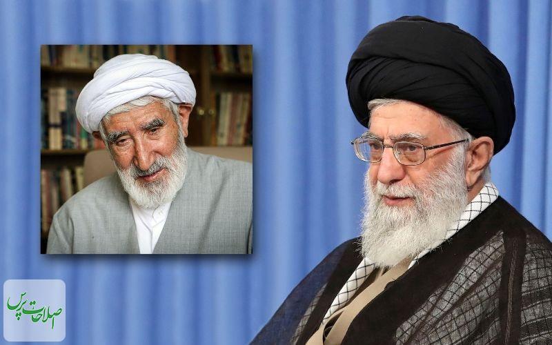 رهبر-انقلاب-درگذشت-حجتالاسلام-احمدی-را-تسلیت-گفتند