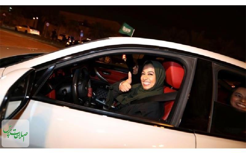 زنان-سعودی-پشت-رول-تصاویر