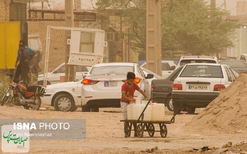 بحران-آب-در-خرمشهر