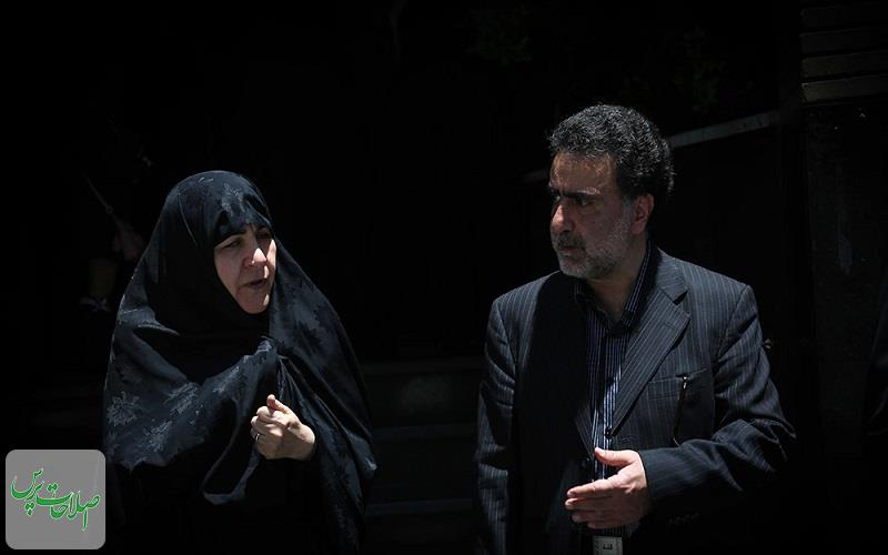 مراسم-بزرگداشت-پدر-مصطفی-تاجزاده-در-مسجد-نور-تهران