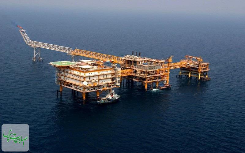 سبقت-۱۲۰-میلیون-متر-مکعبی-تولید-ایران-از-قطر-در-پارس-جنوبی