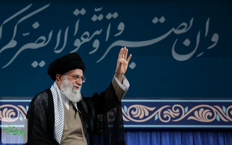آیت-الله-خامنهای-مسئولان-باید-مراقب-باشند-خادم-حرمین-شریفین-باید-«اشداءُ-علی-الکفار»باشد