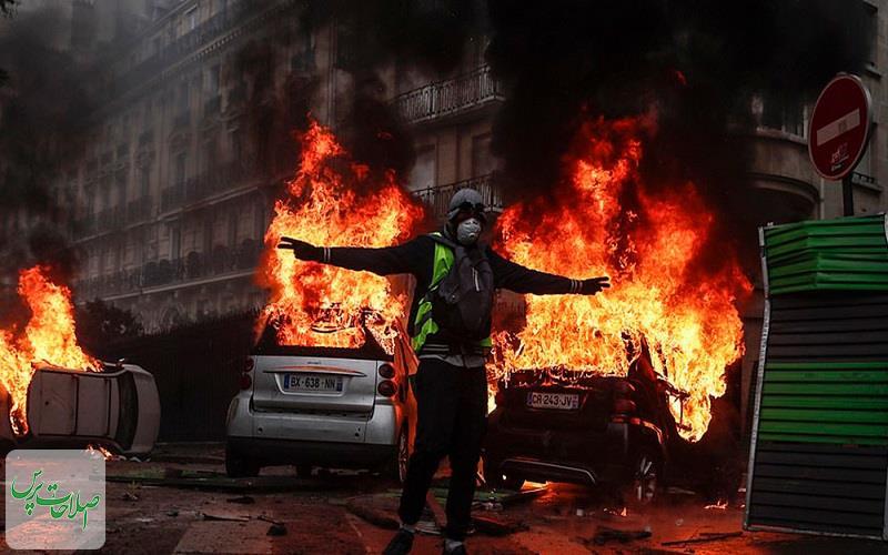 تشدید-اعتراضات-مردم-پاریس