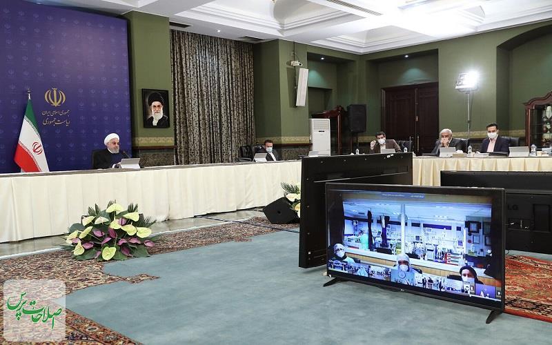 روحانی-اقدامات-۴-استان-برای-مقابله-با-کرونا-را-بررسی-کرد