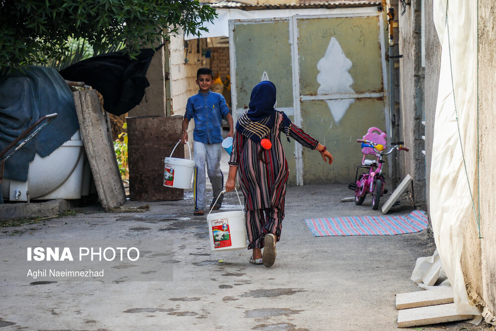 بحران-بی-آبی-در-روستاهای-آبادان