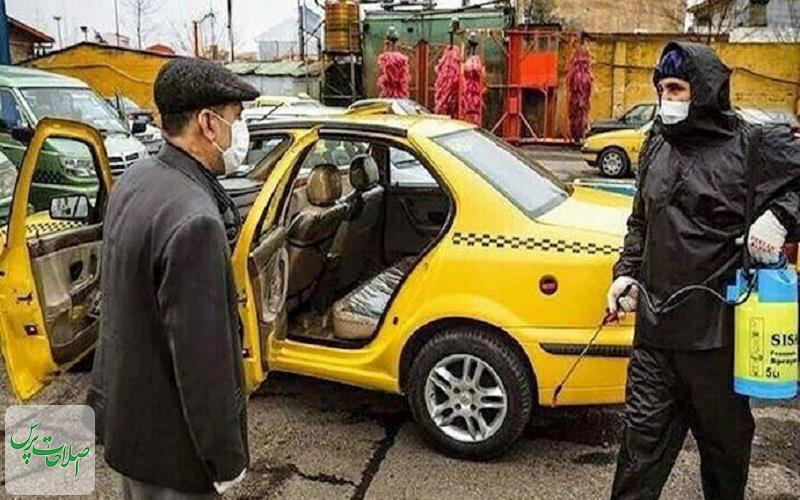 تشدید-نظارت-بر-رعایت-شیوه-نامه-های-بهداشتی-و-خدمات-رسانی-تاکسیهای-پایتخت