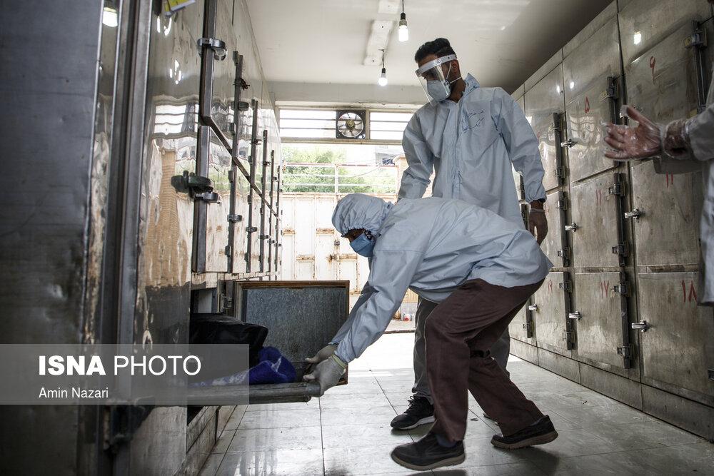 وضعیت-حاد-کرونا-در-بیمارستان-گلستان-اهواز