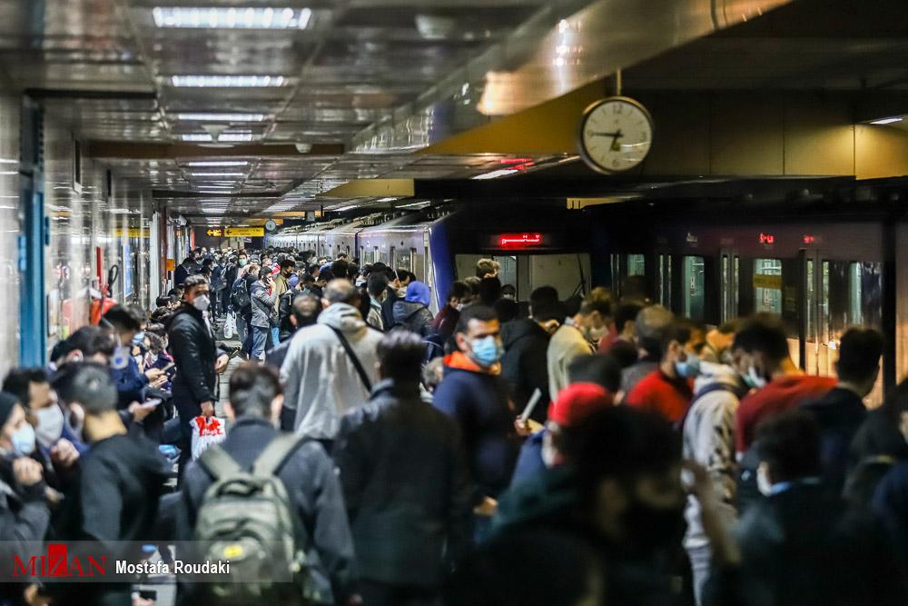 وضعیت-مترو-تهران-بعد-از-ساعت-۱۸