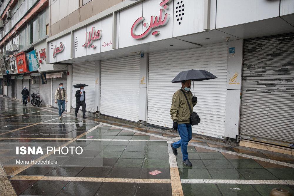نخستین-روز-طرح-محدودیتهای-کرونایی-در-تهران