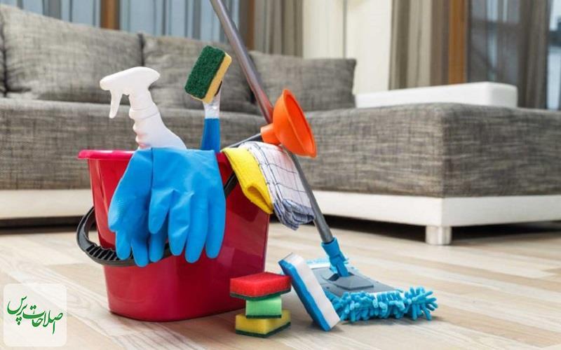 ۸-روش-برای-پاکسازی-کامل-خانه