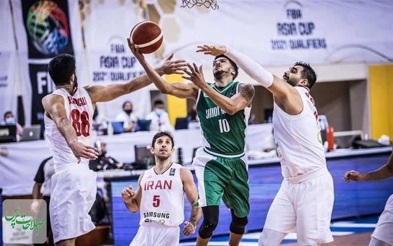 پیروزی-تیم-ملی-بسکتبال-ایران-مقابل-عربستان-در-انتخابی-کاپ-آسیا