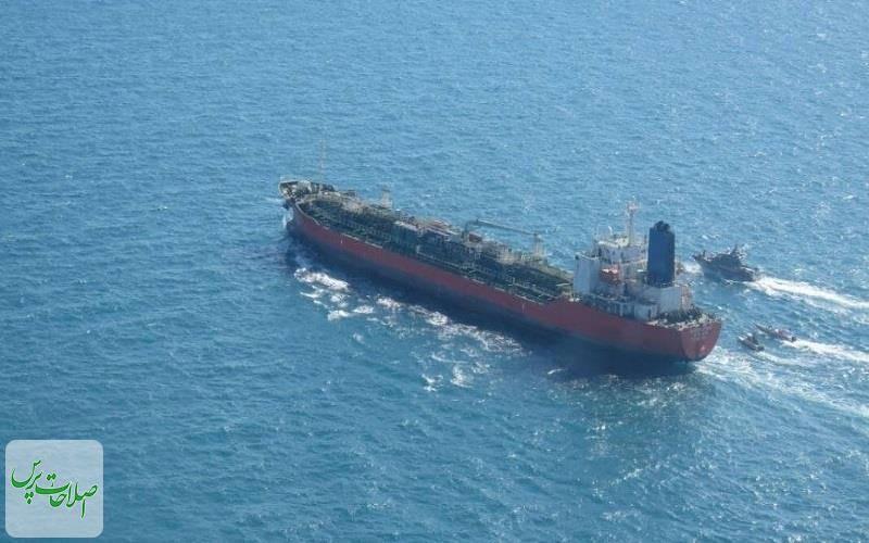 یک-کشتی-کره-ای-در-خلیج-فارس-توقیف-شد