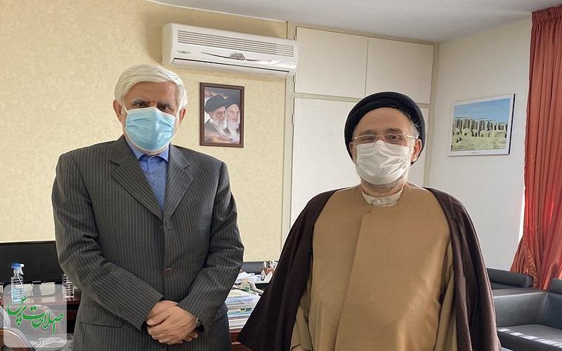 دیدار-ابطحی-با-عارفپشت-او-را-در-انتخابات-خالی-کردیم!