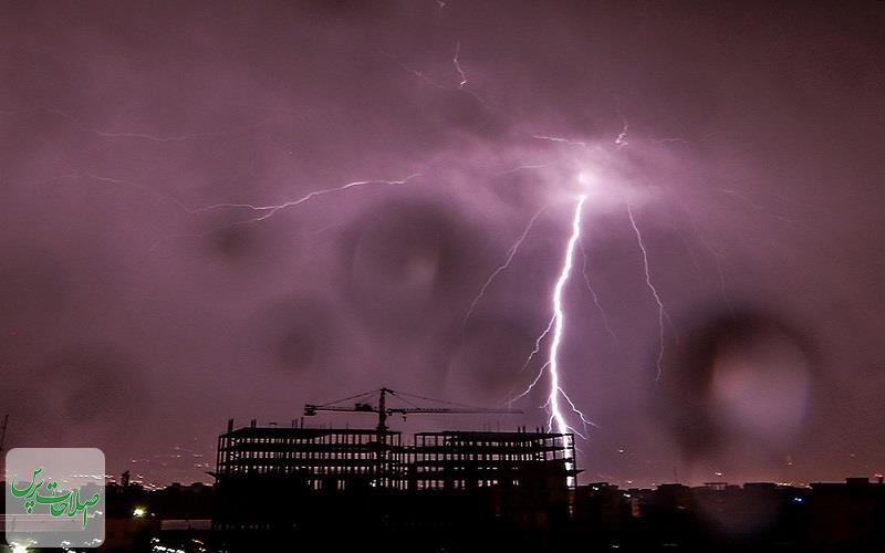 هشدار هواشناسی نسبت به رگبار و رعدوبرق در برخی استانها