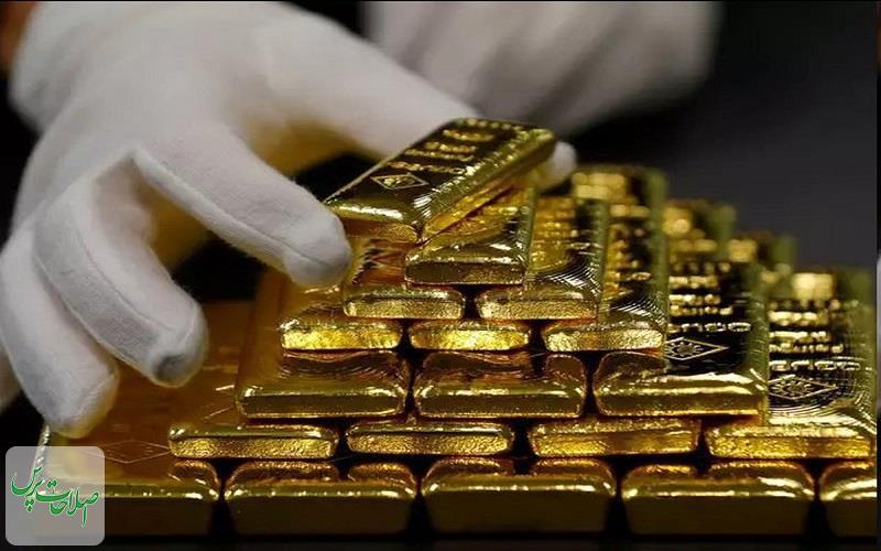 قیمت طلا به کمترین رقم طی یک هفته گذشته رسید