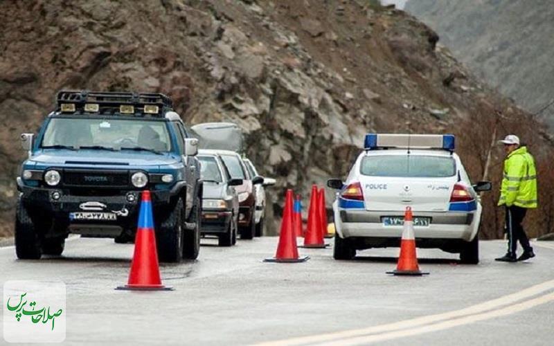 آخرین وضعیت نحوه اجرای محدودیتهای تردد بین شهری