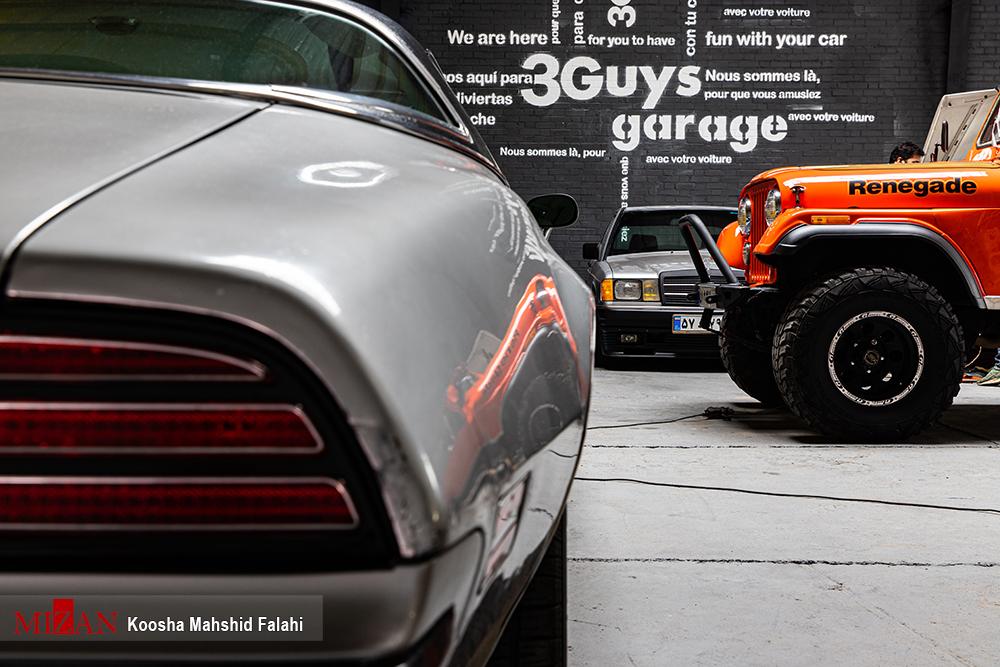 بازسازی خودروهای تاریخی