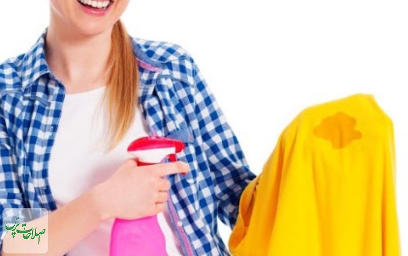 4 روش خانگی برای پاک کردن لکه روغن ار روی لباس